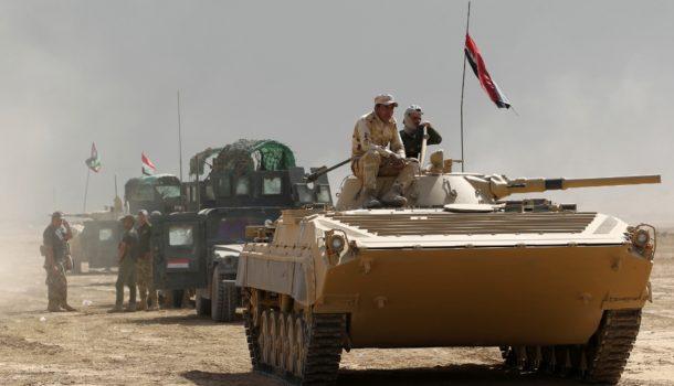 Появились первые кадры операции поосвобождению города отИГИЛ— Наступление наМосул