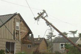 США: по городу Манзанита пронёсся торнадо