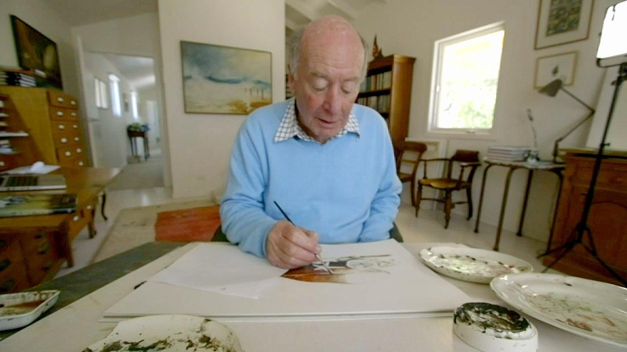 80-летний иллюстратор продолжает писать книги