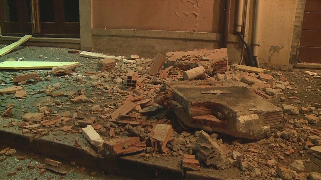 В Италии —снова землетрясения