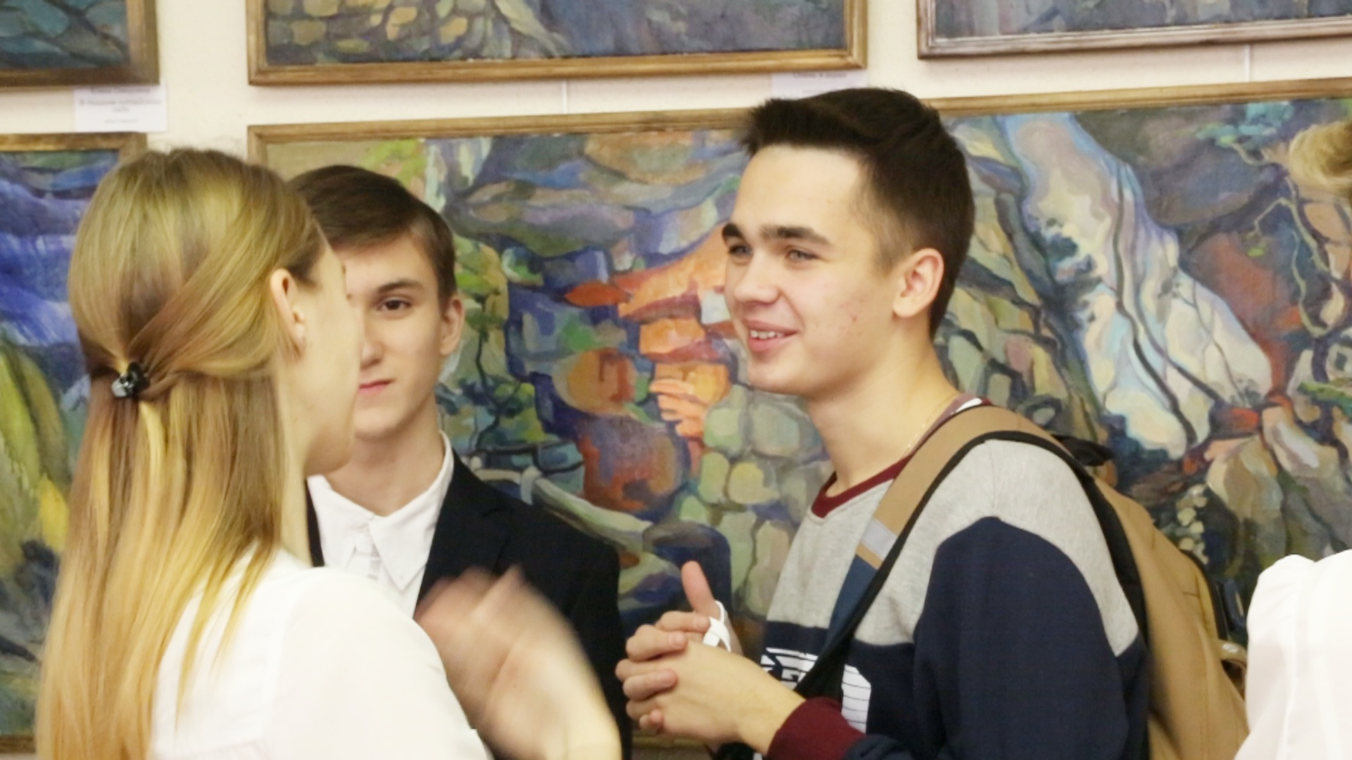 Дети представили свою социальную рекламу на фестивале в Москве
