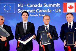 ЕС и Канада подписали торговый договор, но битва ещё не окончена