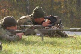 Снайперы из ЕС и США соревновались за титул лучшего отряда