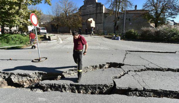 Зафиксировано три новых толчка— Землетрясение вИталии