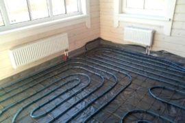 Теплый водяной пол как система отопления дома или квартиры