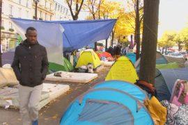 Непростая жизнь мигрантов в Париже
