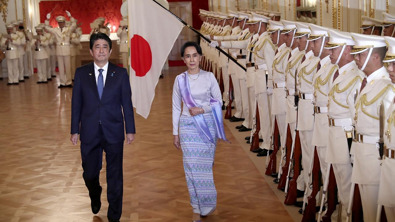 Япония выделит Мьянме помощь в размере $7,7 млрд