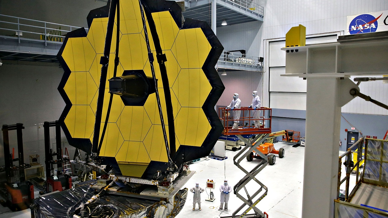 НАСА провело важное испытание телескопа «Джеймс Уэбб»
