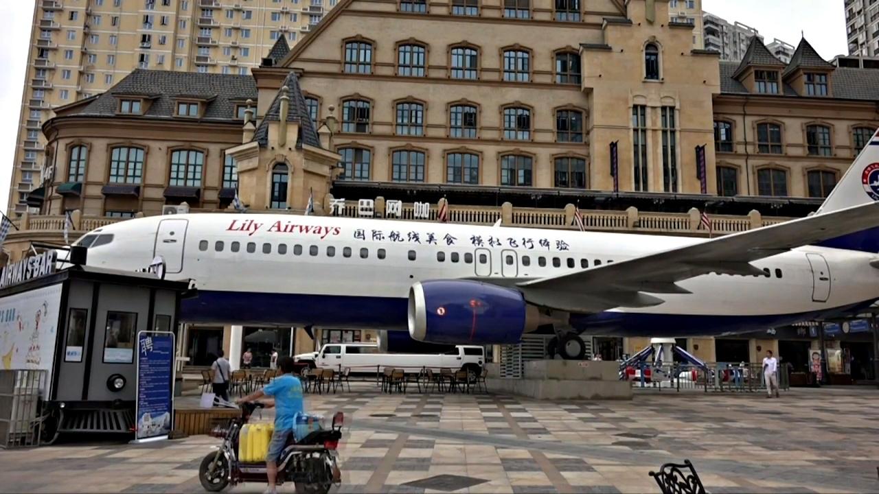 Ресторан-самолёт появился в Китае