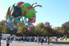 В Нью-Йорке репетируют знаменитый парад Macy's