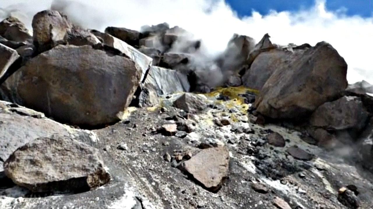 В Перу активизировался вулкан Сабанкая