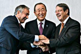 Пан Ги Мун открыл переговоры по объединению Кипра