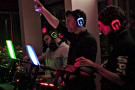 Лондон: бесшумные дискотеки на смотровой площадке