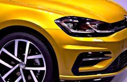 Премьера обновлённого Volkswagen Golf состоялась в Вольфсбурге