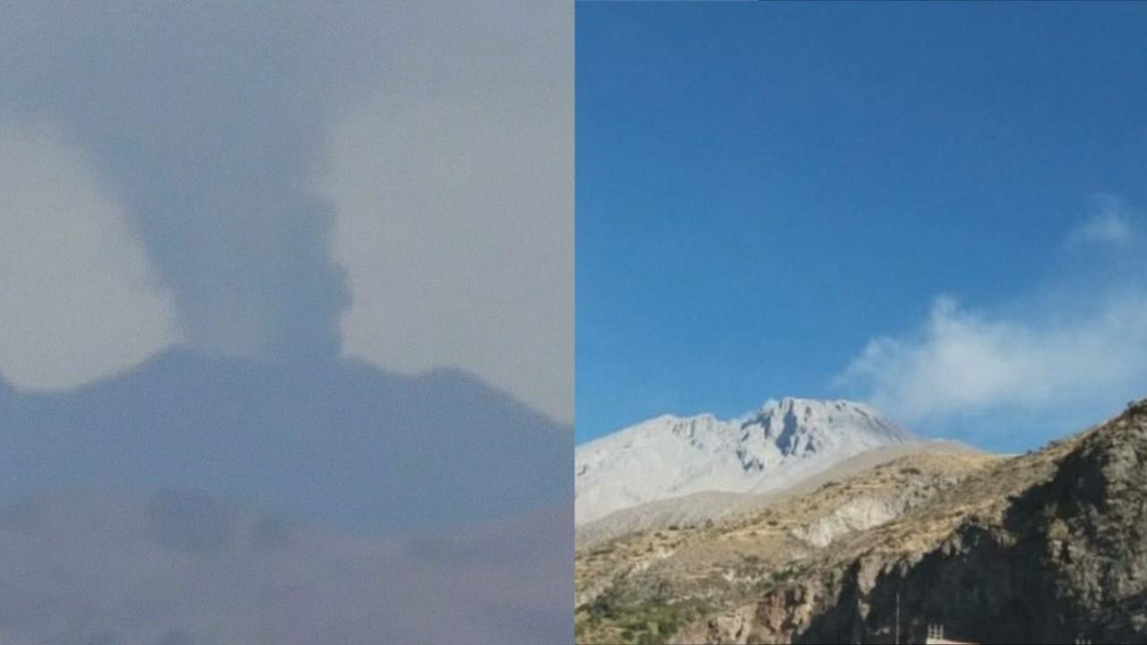 В Перу впервые одновременно извергаются два вулкана