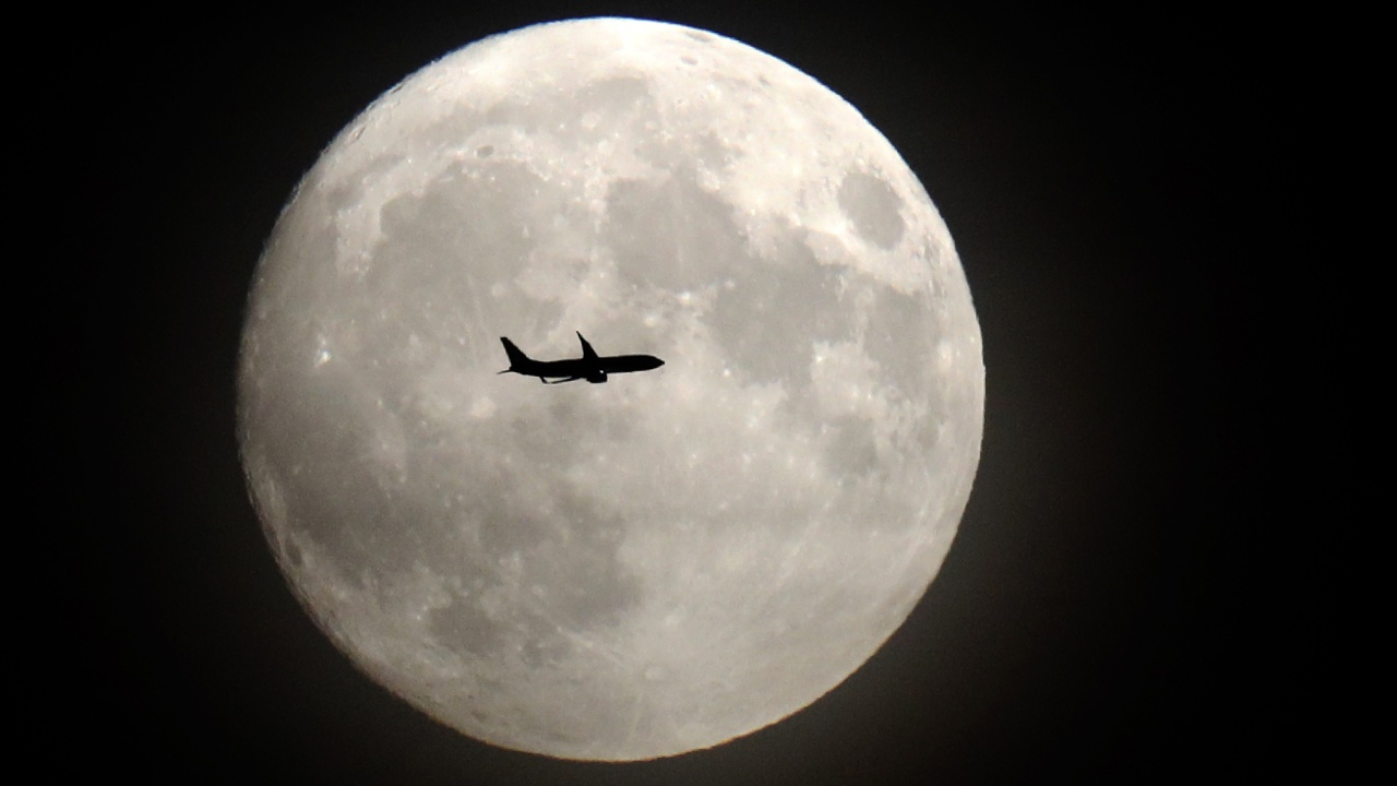 14 ноября любовались крупнейшей Луной XXI века