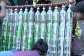 Аргентинцы собирают солнечные коллекторы из отходов
