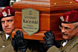 В Кракове эксгумировали тела Леха Качиньского и его жены