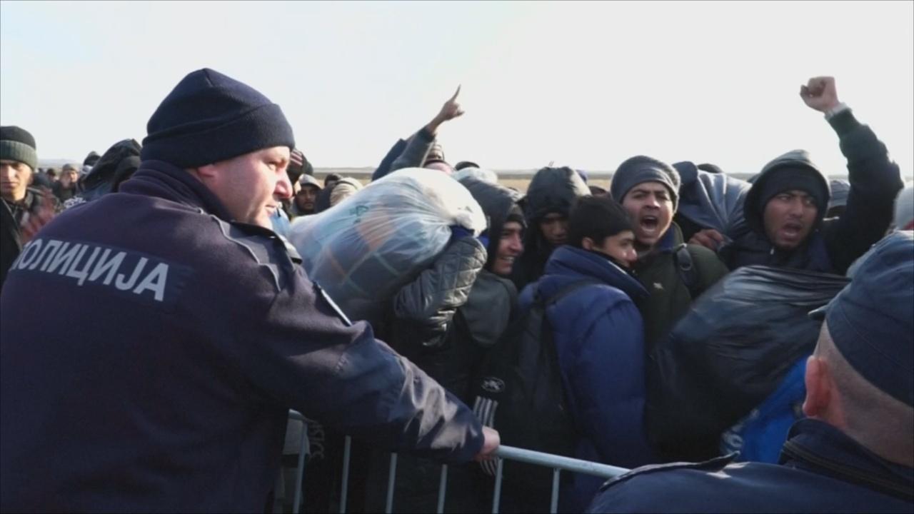 Мигрантам снова не удалось попасть в Хорватию