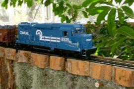 Шоу поездов открывается в Нью-йоркском ботаническом саду