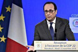 Олланд призвал Трампа не отказываться от соглашения по климату