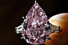 Аукцион Christie's: рынок бриллиантов «здоров»