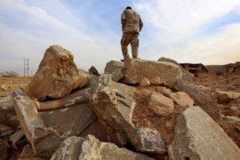 Освобождённый от ИГИЛ Нимруд – в руинах