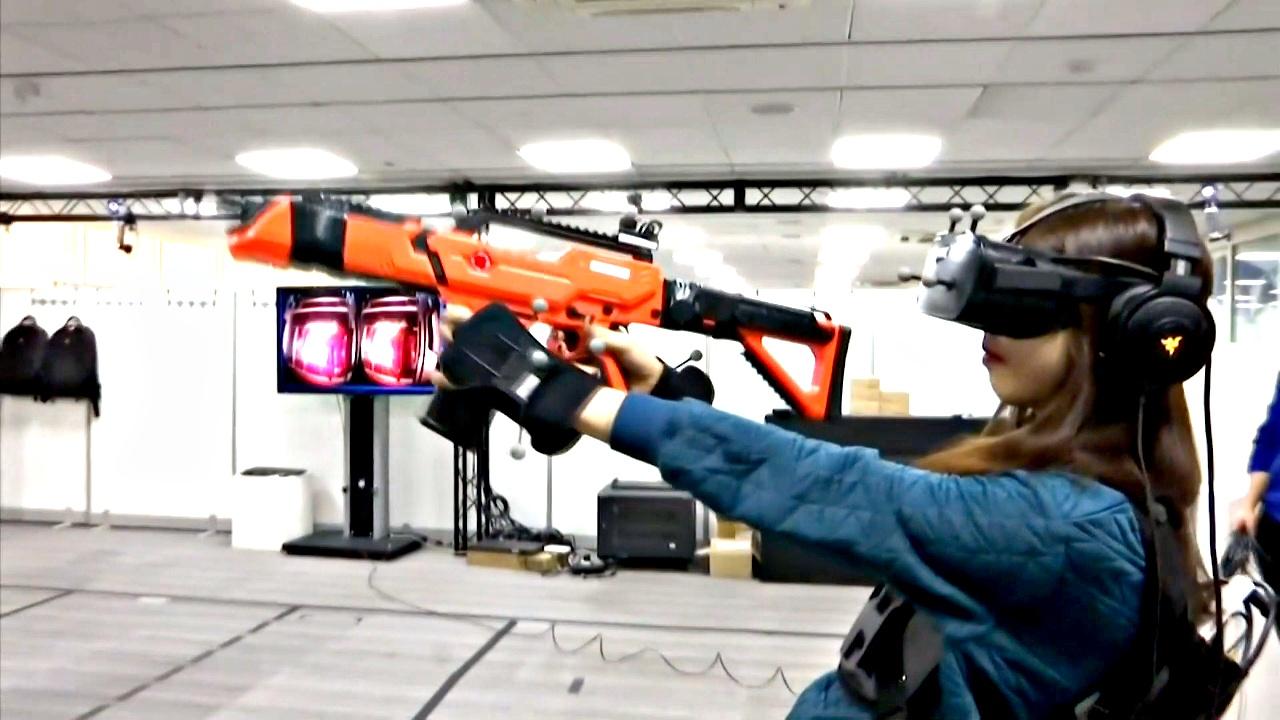 В Южной Корее открылось первое кафе виртуальной реальности