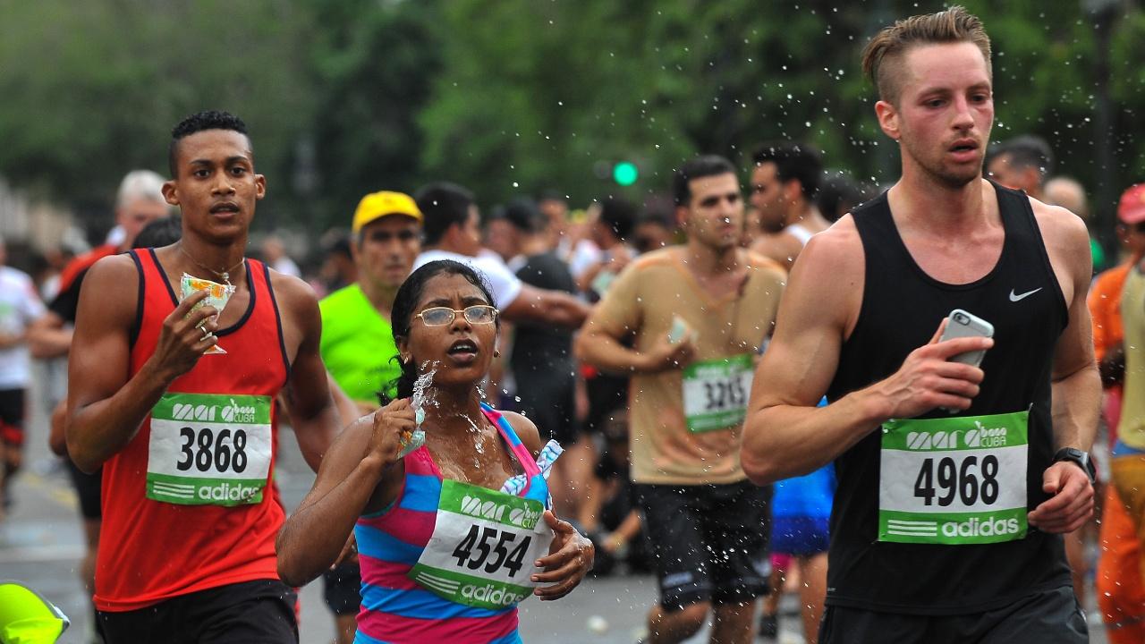В Гаване прошёл легендарный марафон «Марабана»