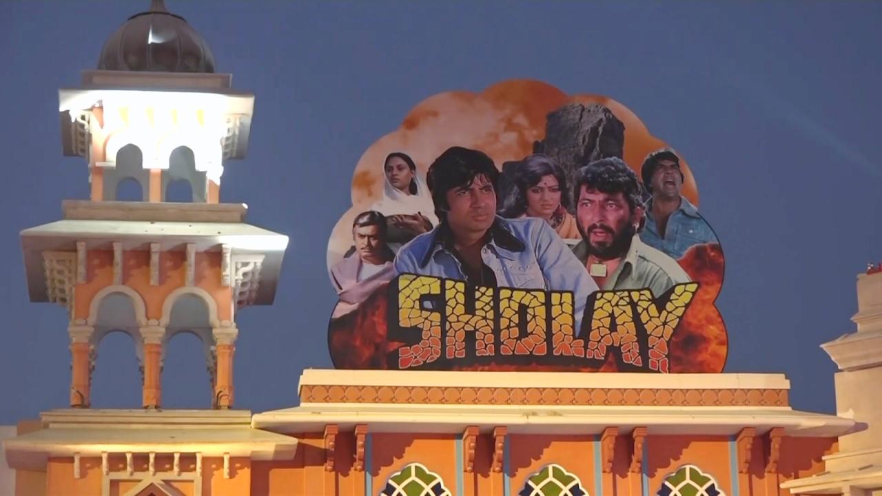 В Дубае открыли «Парк Болливуда»