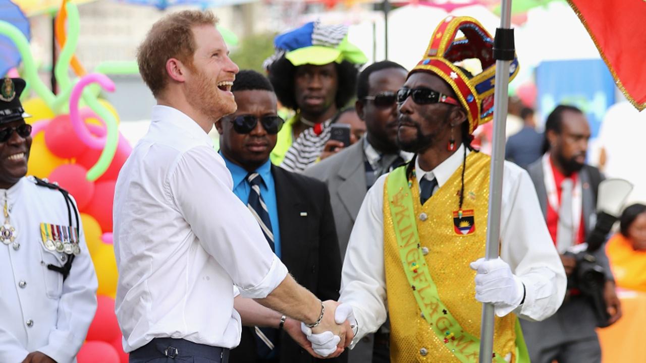 Принц Гарри посетил Антигуа и Барбуду в ходе карибского турне