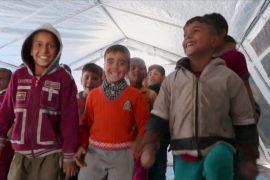 Недалеко от Мосула открыли школу для детей-беженцев
