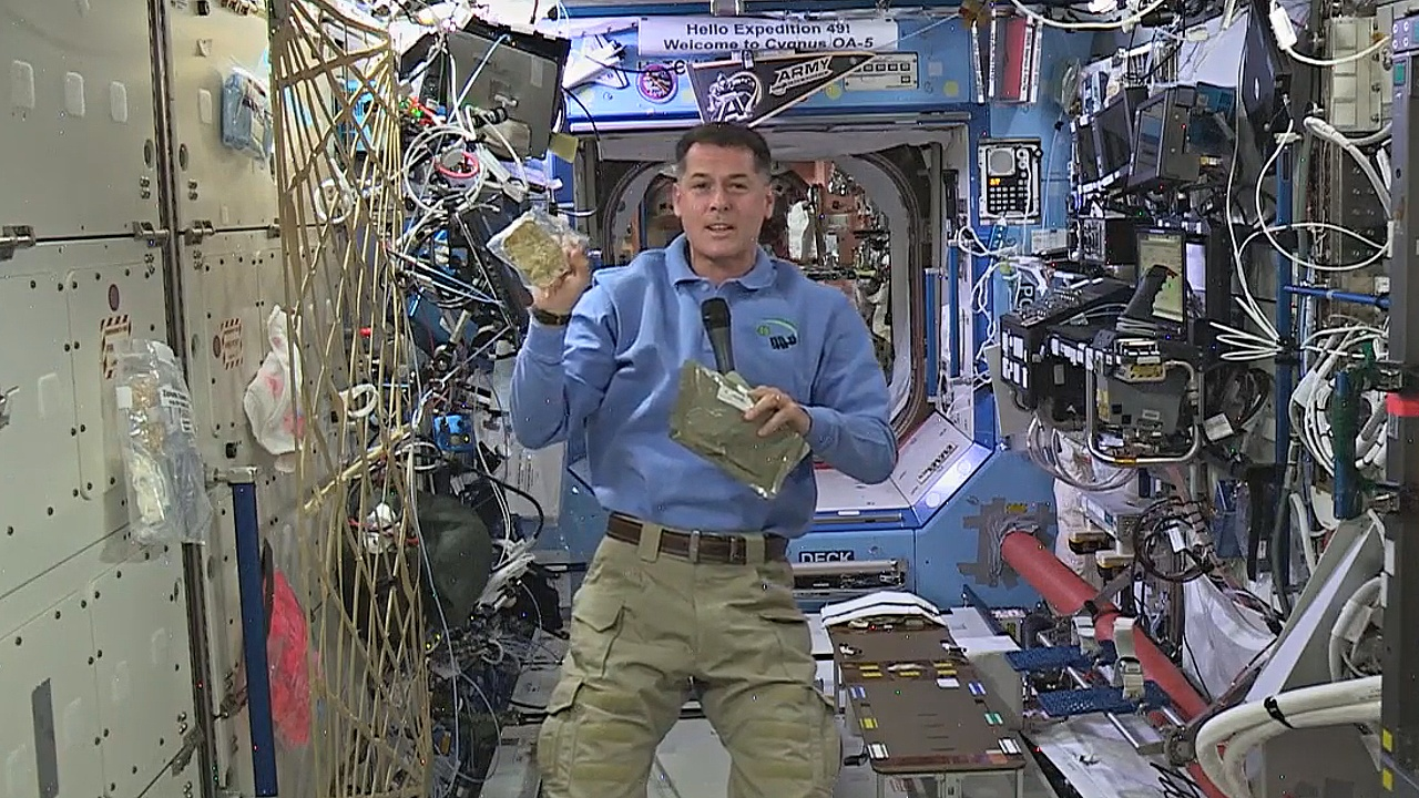 Как астронавты на МКС отпразднуют День благодарения?