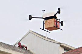 Доставка товаров на дронах – новый тренд в Китае