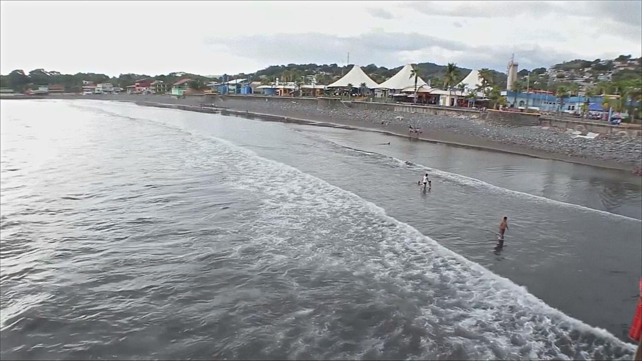 У берегов Центральной Америки произошло землетрясение в 7 баллов