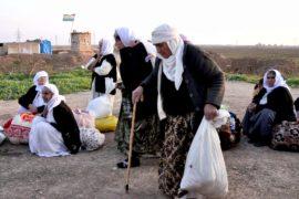Группа езидов рассказала, как бежала от ИГИЛ