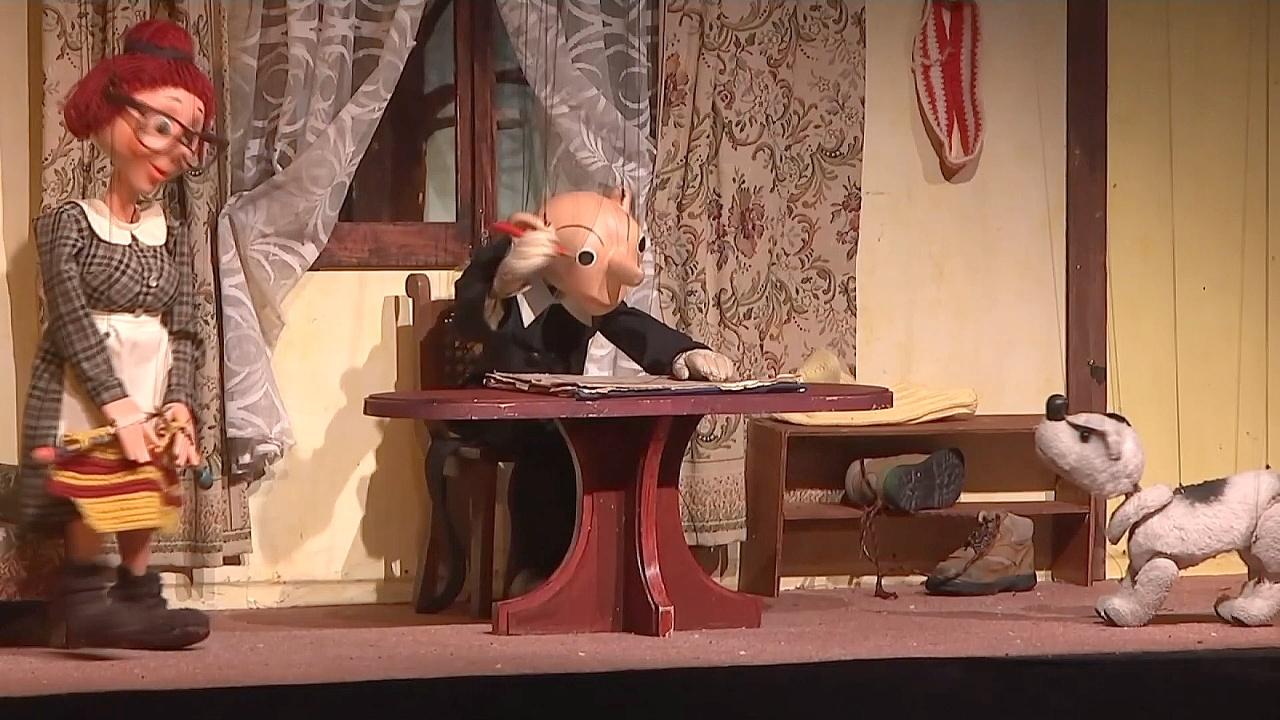 Традиционный кукольный театр показывают в Чехии