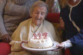 Самой пожилой жительнице планеты исполнилось 117 лет