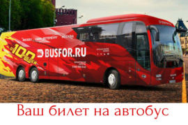 Удобные поездки на фирменных автобусах для вас