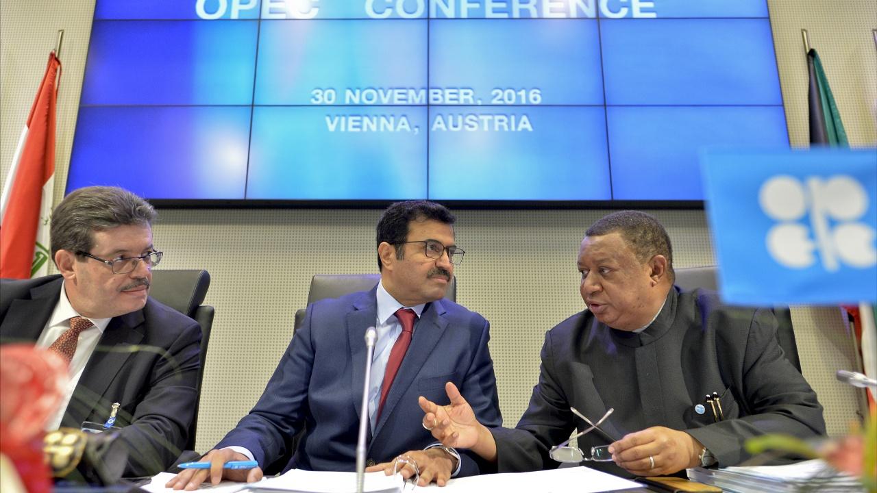 Страны ОПЕК договорились урезать добычу нефти