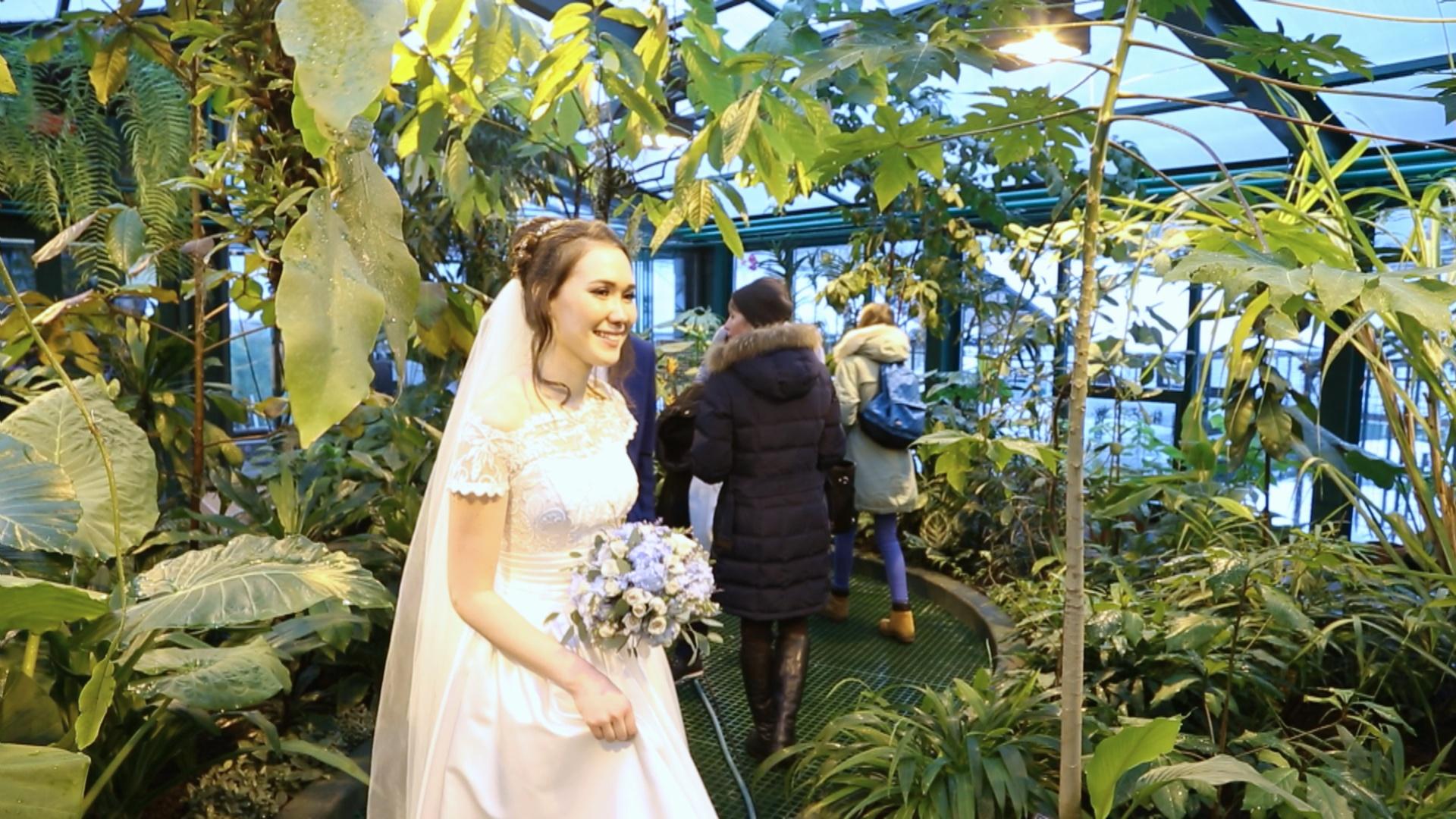 Тропический лес появился в центре Москвы