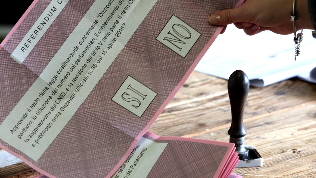Италия сказала «нет» конституционной реформе