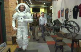 Для марсианской миссии разработали тренировочный скафандр