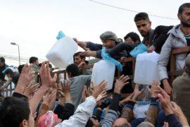 Голодные жители Мосула угрожали захватить гумпомощь ООН