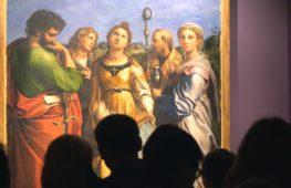 Выставка Рафаэля Санти проходит в Москве