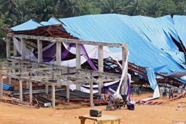 В Нигерии обрушилась церковь: не менее 160 погибших