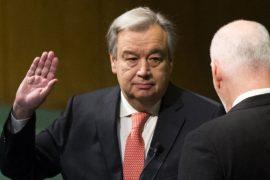 Новый Генеральный секретарь ООН принял присягу
