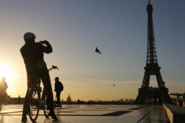 Эйфелева башня на день закрылась из-за забастовки