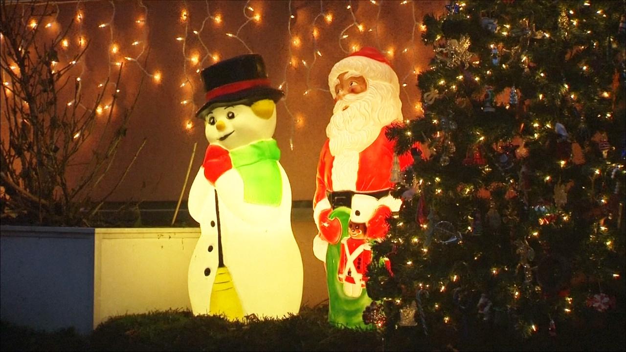 К Рождеству дом в Баварии украшают тысячами огней