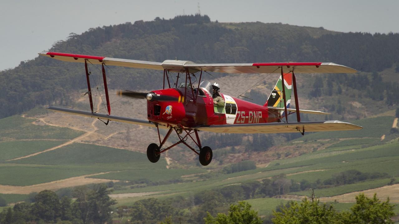 Ралли на бипланах над Африкой завершилось в ЮАР